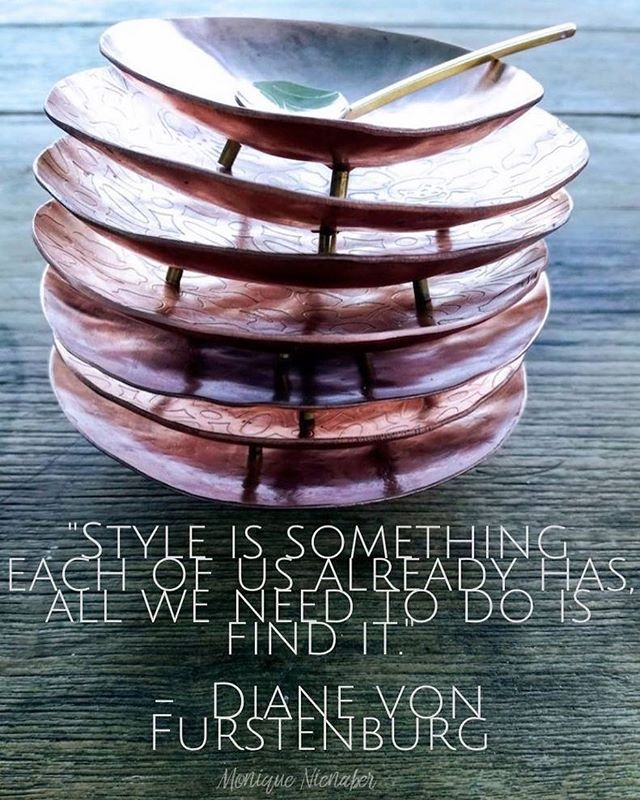 """Style is something each of us already has  all we need to do is find it"" -  Diane Von Frustenburg  We are so in love with our cool tableware range... see more at www.ebonymoon.co.za  #quote #Ebonymoon #Saying #Style #wheretrendsareborn #quotes #quotestoliveby #style"