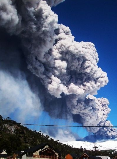 Volcán Copahue: ..