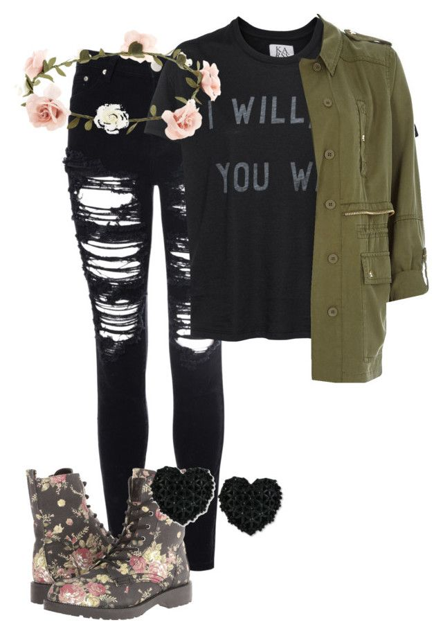 """Cloudy Day Outfit"" by barelyjc on Polyvore featuring Glamorous, G by Guess, Zoe Karssen, Accessorize, Betsey Johnson and River Island"