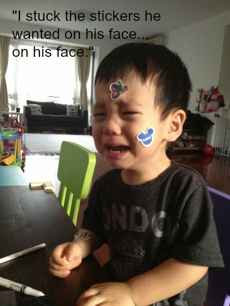Little Kid Laughing To Crying