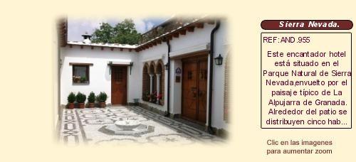 Hotel rural en venta busquístar sierra Nevada Granada http://www.lancoisdoval.es/casas-rurales-en-venta.html