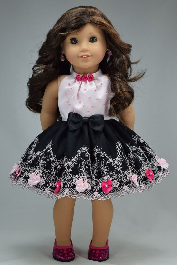 American girl doll clothes Formal short length by PurpleRoseNY
