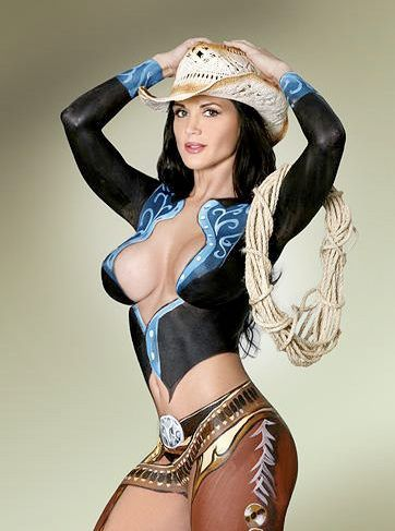 I am all about Country, and this cowgirl can rope me up and hogtie me anytime.