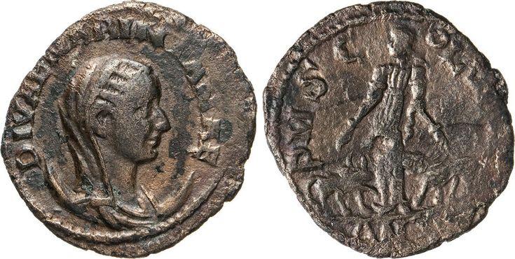 NumisBids: Numismatica Varesi s.a.s. Auction 65, Lot 251 : MARINIANA (moglie di Valeriano) Ae 27, Moesia, Viminacium. D/...