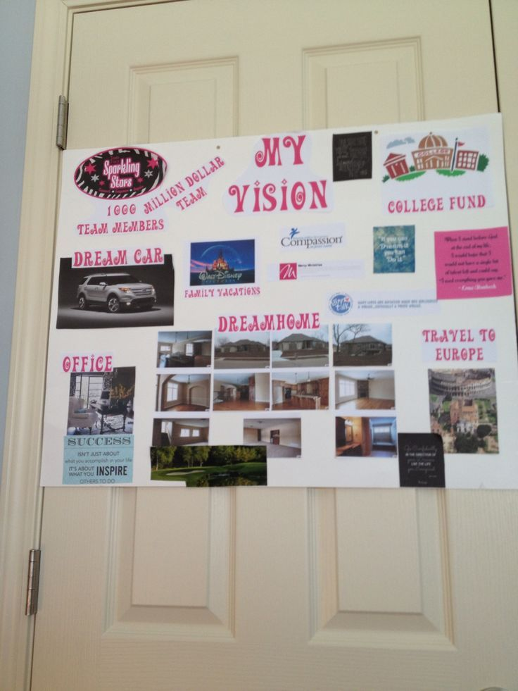 51 best Vision Board Examples images on Pinterest | Vision boarding ...