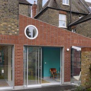 David Kohn's Sanderson House extension  conceived as a fox in the garden