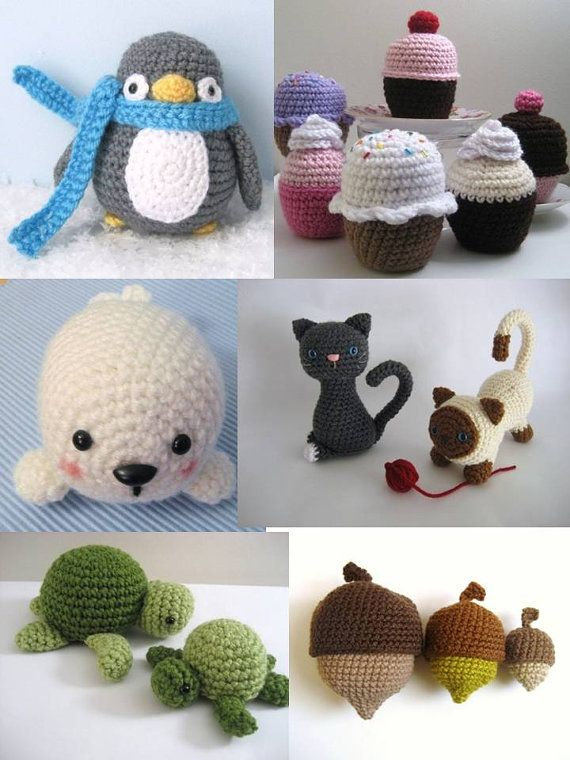 Crochet Amigurumi Pattern Bundle