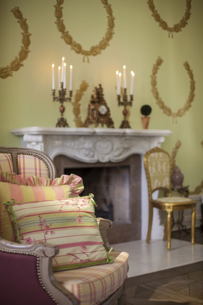Candy colors of Rococo