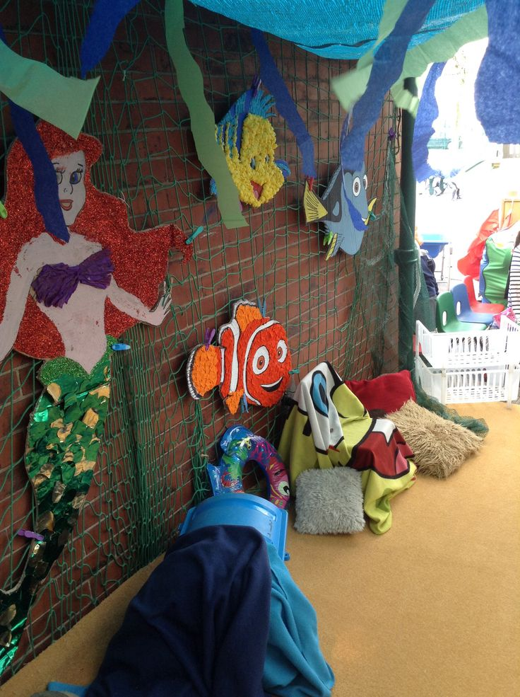 Under The Sea Outdoor Role Play Area Addisyn S 3rd