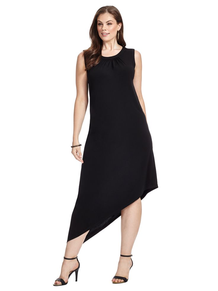 Black and white asymmetrical dress up women sleeve what are