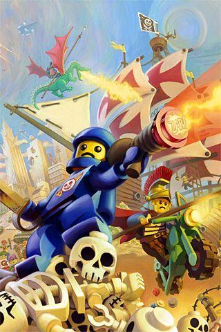 Lego Knights Kingdom Android Wallpaper HD