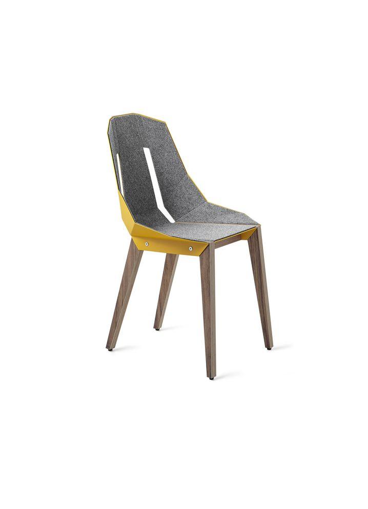 Krzesło Diago z filcem marki Tabanda. Znajdź więcej na: www.euforma.pl #chair #tabanda #krzesło #design #polishdesign