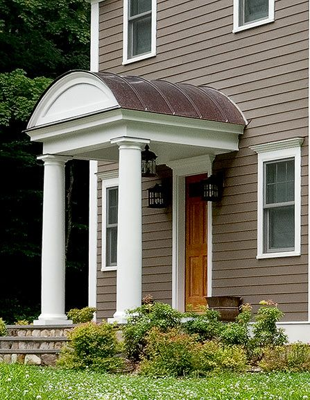 Covered Entrance Welcome Porch Roof Design House