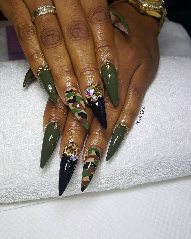 Best 25+ Camouflage Nails Ideas On Pinterest