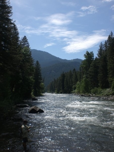Jump on in gallatin river bozeman montana july 2009 for Bozeman mt fly fishing