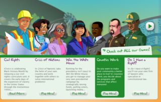 Free civics lesson plans and learning games, especially for middle schoolers, created with help from a Supreme Court judge.