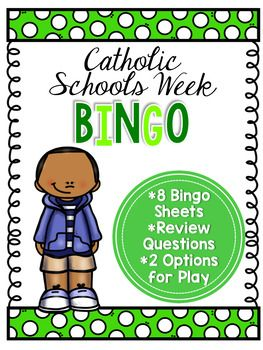 Looking for a fun activity to use during Catholic Schools Week? I use this with my students and their Grandparents on Grandparents Day, but it can be used any time during Catholic Schools Week. I usually have stickers, holy cards, or other treats on hand for prizes.