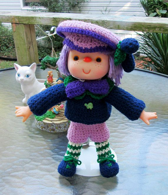 Plum Preserves Crochet Doll from Lollipop Lane  by MagicAvenue