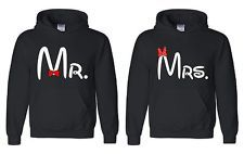 "mr and mrs sweatshirts | Couple Matching Hoodies "" Mr & Mrs "" sweatshirt couple LOVE super cute ..."