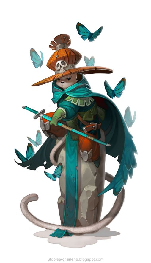 Cat Mage by Catell-Ruz on deviantART
