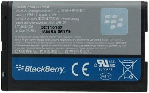 Buy BlackBerry C-S2/CS2/BAT-06860-003/BAT-06860-009/ACC-06860-304 Original OEM Battery - Non-Retail Packaging - Grey NEW for 1.88 USD | Reusell