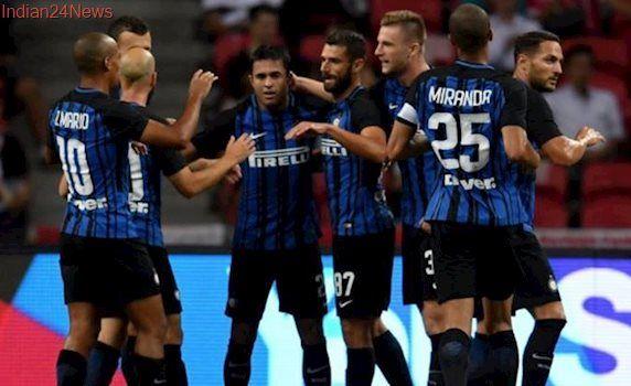 Martins Eder strikes twice as Inter Milan ease past Bayern Munich in Singapore