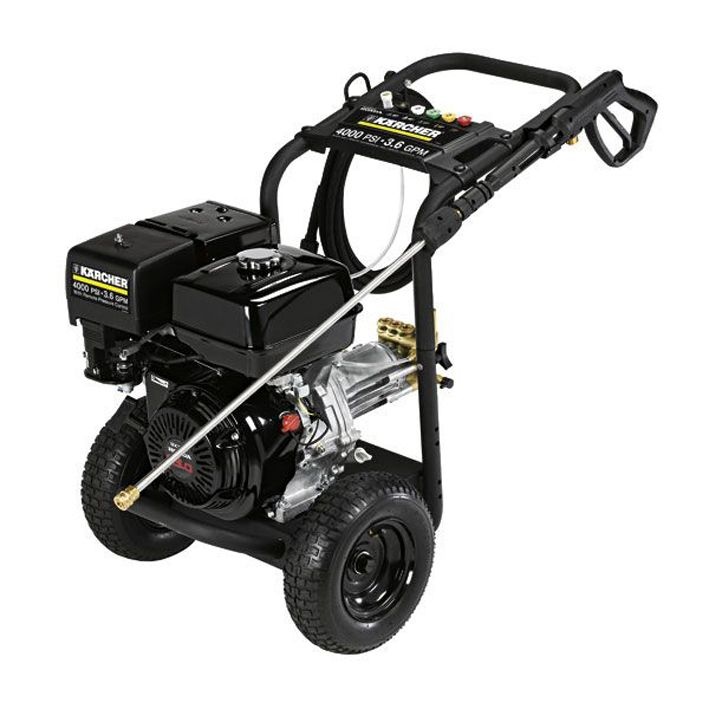 Karcher Petrol Cold Water Pressure Cleaner. #G4000OH