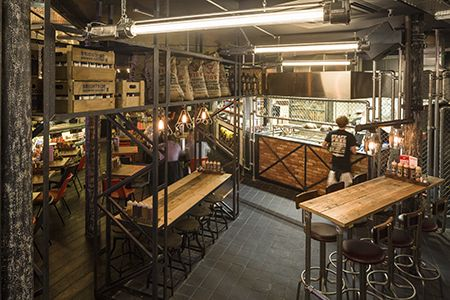 Hospitality Design - Red's True Barbecue, Manchester