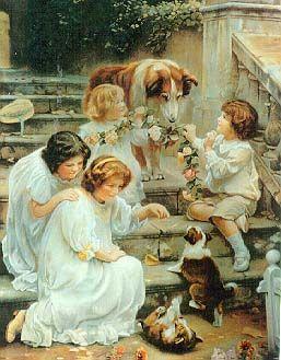 """Try Again"" by Arthur Elsey, circa 1910"