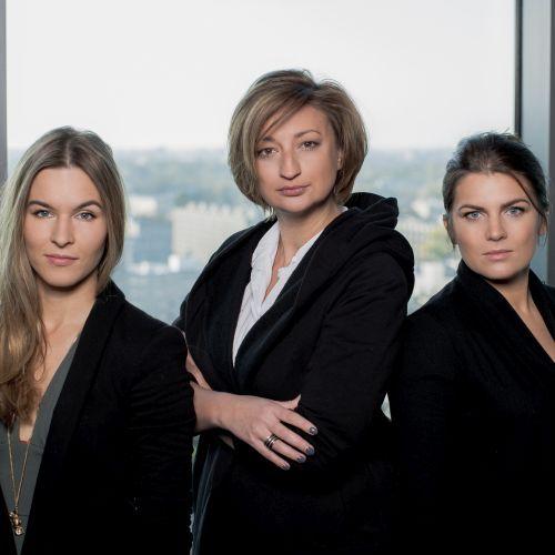 Klara Kowtun, Dorota Sajewicz, Antonina Samecka, RISK MADE IN WARSAW Finalistki, konkursu EY Przedsiębiorca Roku 2016