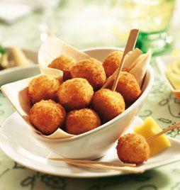 Antilliaanse kaasballen: Antillean cheeseballs... Dushi yiu!