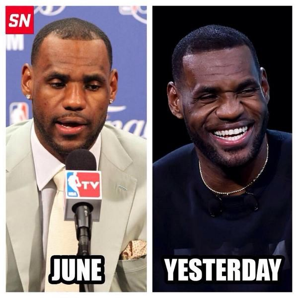 Lebron James Hair