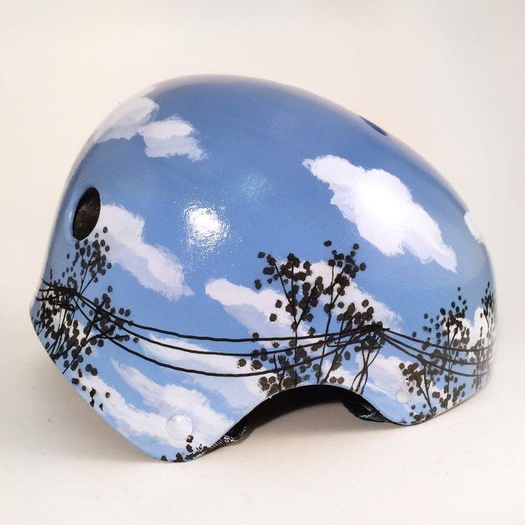 Blue Sky Bike Helmet