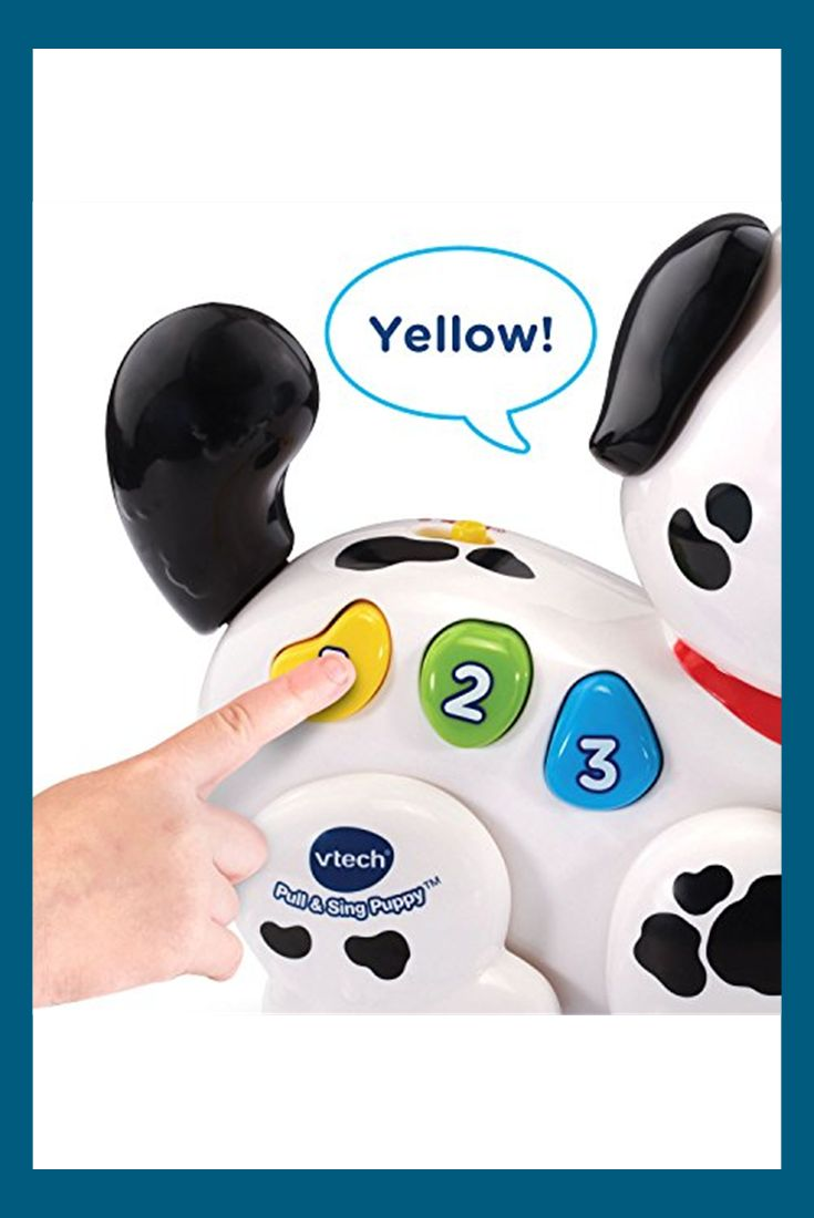 Vtech Pull And Sing Puppy With Images Baby Developmental Toys Toy Puppies Puppies