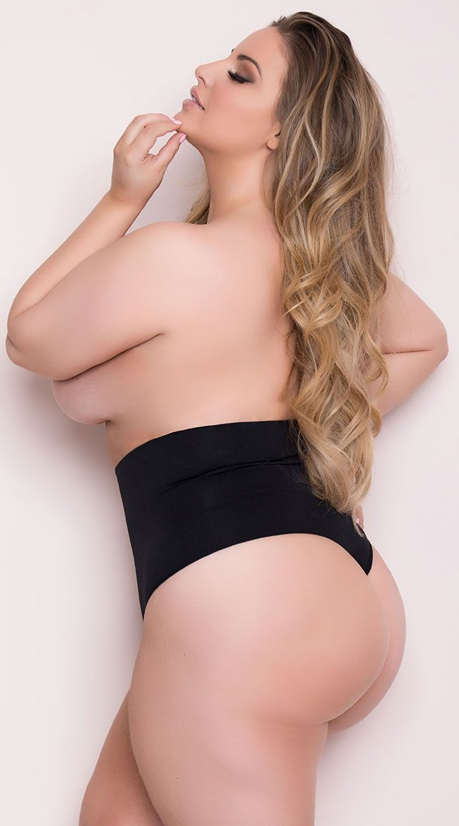 480dcb3af Plus Size Seamless Shaping Thong in 2019