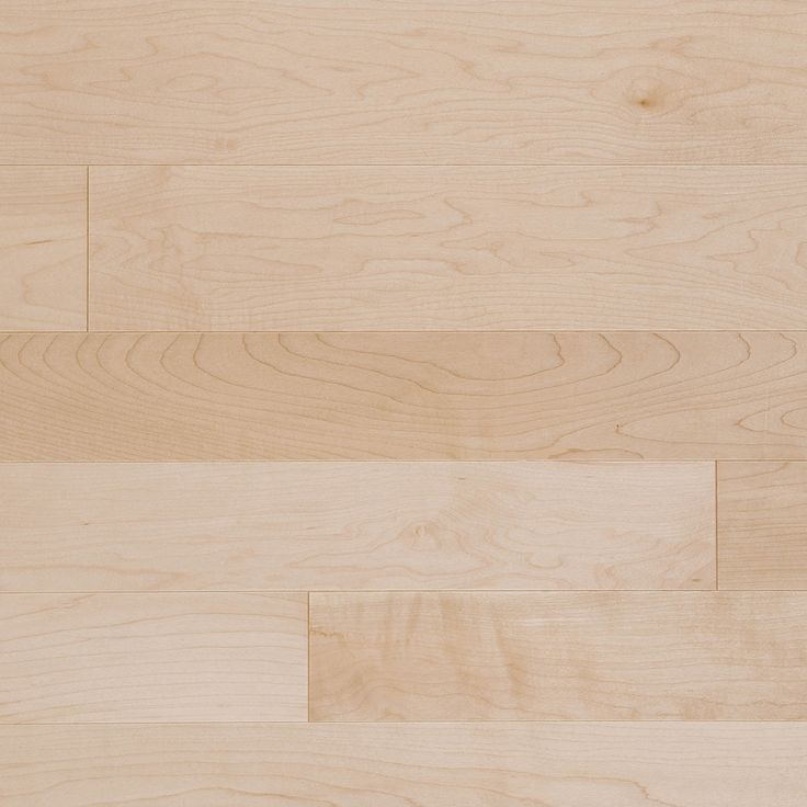 Natural, Maple Select And Better - Mirage Hardwood Floors