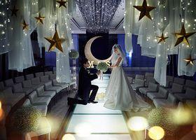 まるで妖精の世界!ジャイアントペーパーフラワーで作った結婚式がおとぎ話級の可愛さ♡