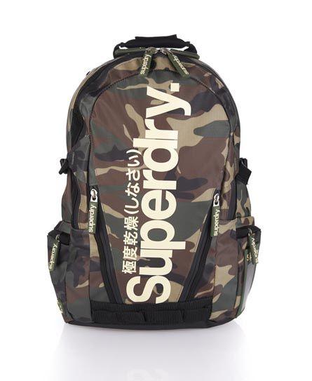 Superdry Tarpaulin Backpack - Men's Bags