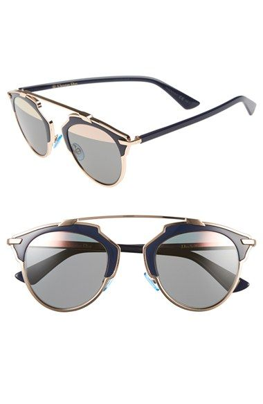 Dior 'So Real' 48mm Sunglasses available at #Nordstrom http://www.queenclothing.co.uk/
