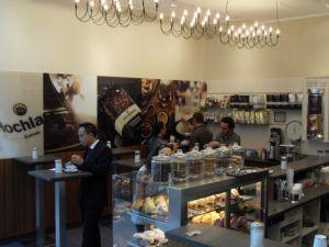 Cafe Holankabar im Einkaufszentrum Loop 5// Gebaüdeklasse: Sondergebäude_ Mall Bauort: Weiterstadt// LPH 1-8// Bauzeit: 3 Monate// Baukosten: auf Anfrage