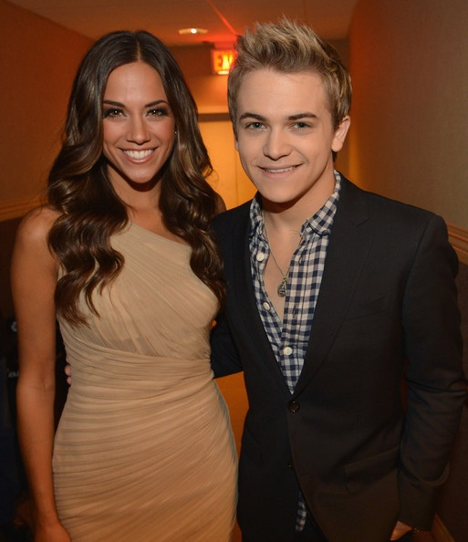 What?!?!?!? My little boyfriend and a new fave after last nite! Jana Kramer and Hunter Hayes