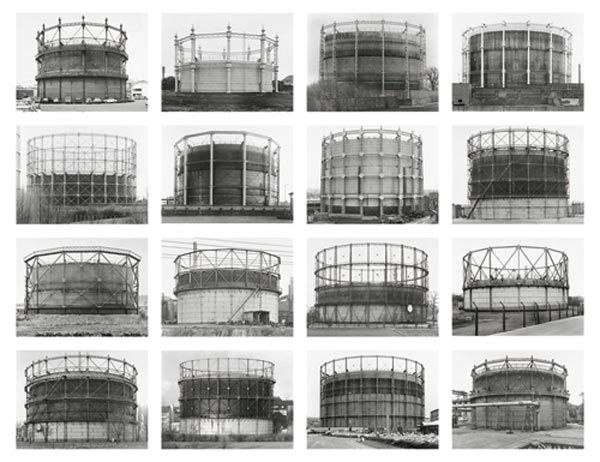 Bernd & Hilla Becher — Gasometers; Germany, Britain and France (1963-1997)
