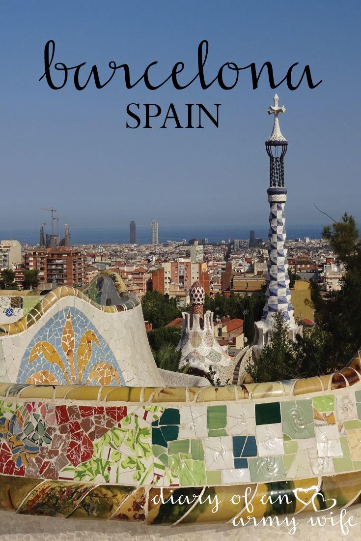 A Day in Barcelona Spain European DestinationEuropean