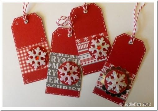 Wilkison Christmas Craft Papers. Christmas Gift Tags