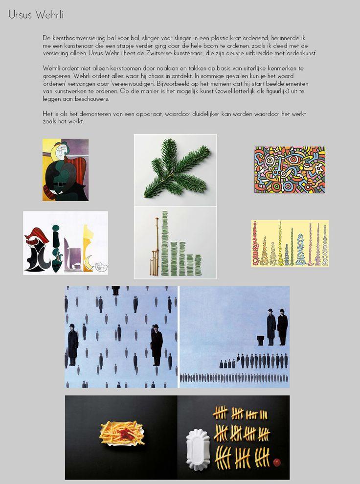 Kunstenaar: Ursus Wehrli  http://www.artecomagazine.nl/artecomagazine_ursus_wehrli.html