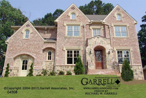 Garrell associates inc windmoore manor house plan 04308 for European manor house plans