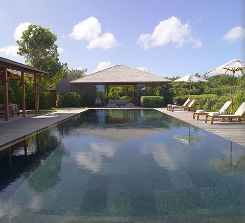 AMANYARA villa swimming pool.  #amanyara #turks #caribbean #island #travel #secret #escapes amanyara.com