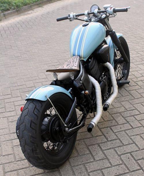 Bobber Inspiration - Honda Shadow bobber by Andy Prawira | Bobbers and Custom Motorcycles April 2014