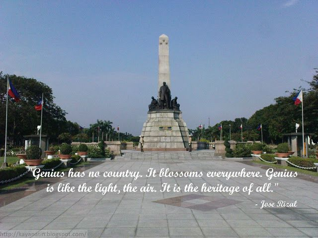 manila and rizal essay Memoirs of a student in manila by jose rizal memoirs of a student in manila by jose rizal we will write a custom essay sample on memoirs of a student in manila.