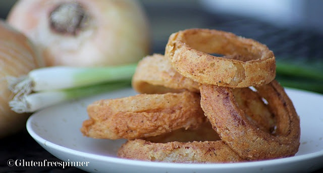 gf Onion Rings | Yummy! | Pinterest | Onion Rings, Onions and Rings